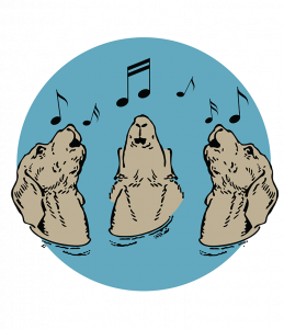 Three Hounds Music Logo